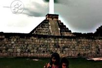 La Pir�mide maya de Itchen Itza