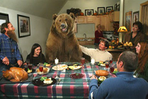 Viviendo con un oso