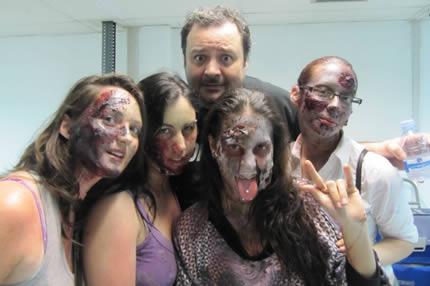 El 15 de abril se llenaran las calles de zombies!
