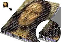 Un mosaico con tu foto