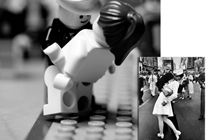Fotograf�as con Lego