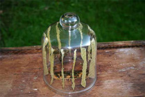 Colmena en cristal