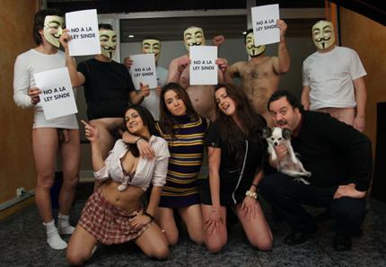 El porno tambien tiene que opinar sobre la Ley Sinde