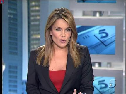 Si, esa chica que presenta los Informativos de Tele5